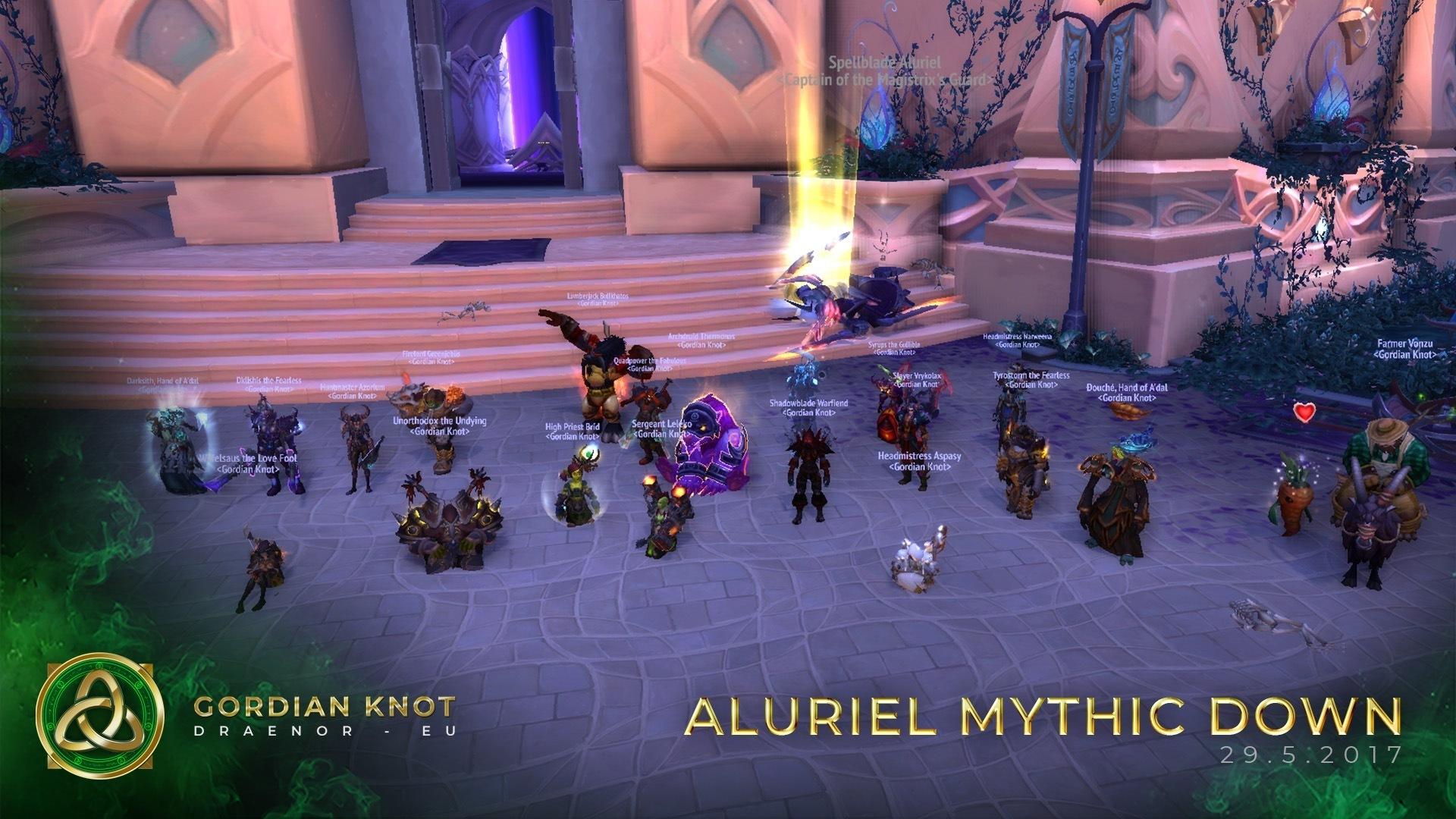 Aluriel Mythic