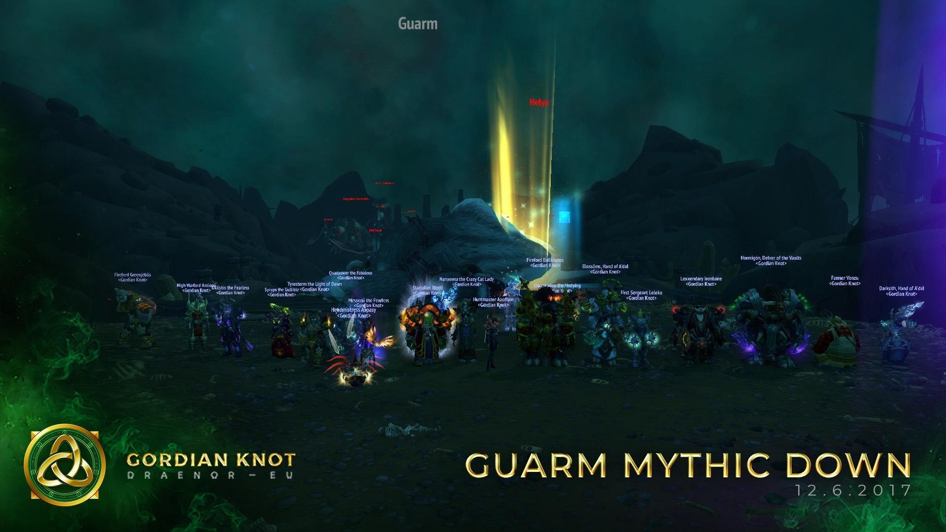 Guarm Mythic