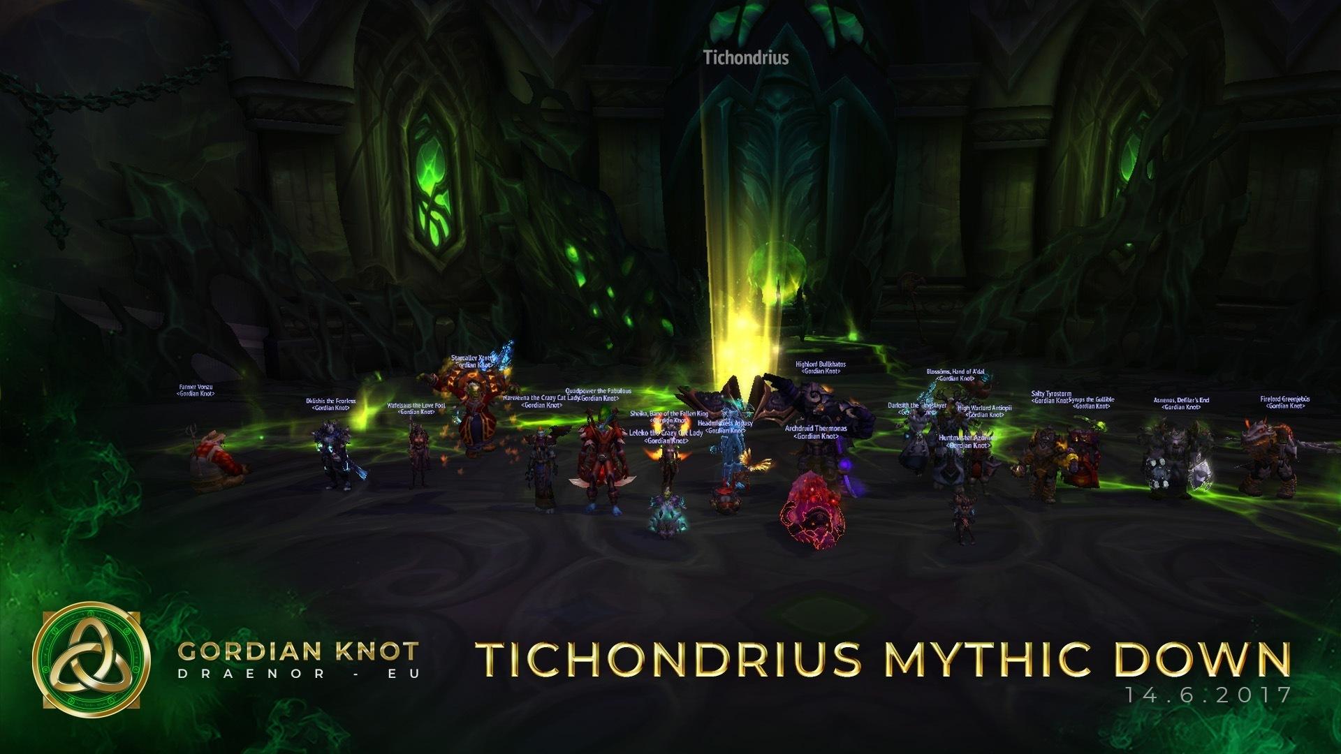 Tichondrius Mythic