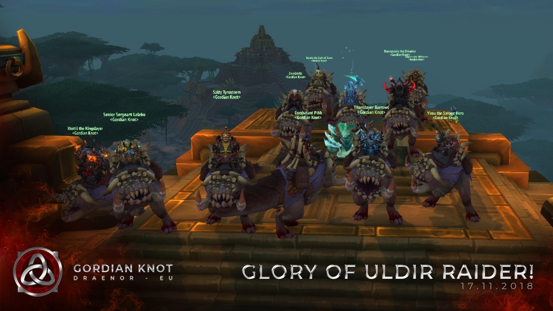 Glory of the Uldir Raider