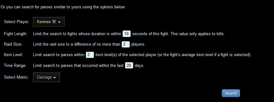 warcraftlogs compare